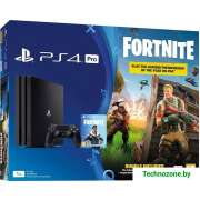 Игровая приставка Sony PlayStation 4 Pro 1TB Fortnite Battle Royal Bomber Pack
