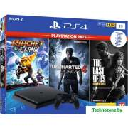 Игровая приставка Sony PlayStation 4 1TB Ratchet & Clank + Uncharted 4 + The Last of US
