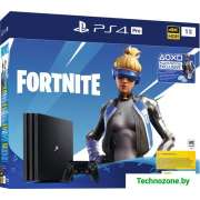 Игровая приставка Sony PlayStation 4 Pro 1TB Fortnite Neo Versa