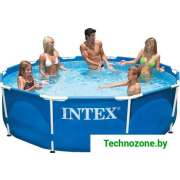 Каркасный бассейн Intex Metal Frame 305х76 (56997/28200)